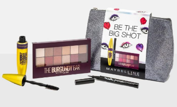 Maybelline Be the Big Shot Smokin Hot Makeup Bag