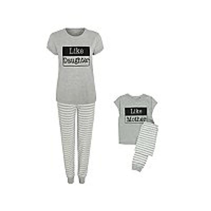 Matching Mother Daughter Pyjamas