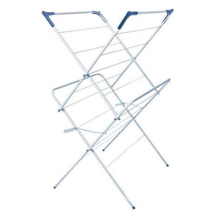 White 2 Tier Room Airer at Dunelm Only £7.99