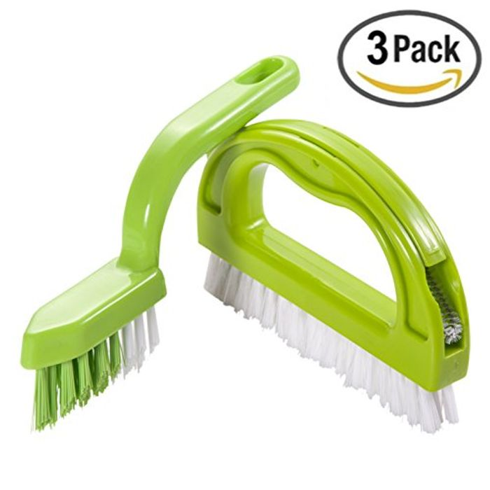 Price Drop! Scrubber Brush 3 in 1 Super Value Pack for 99p