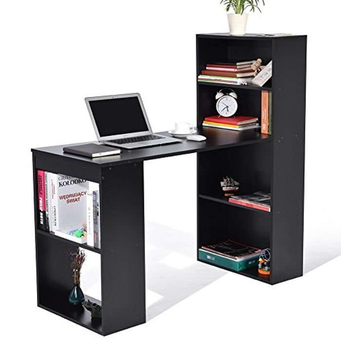 Student PC Workstation Laptop Table and Storage Unit