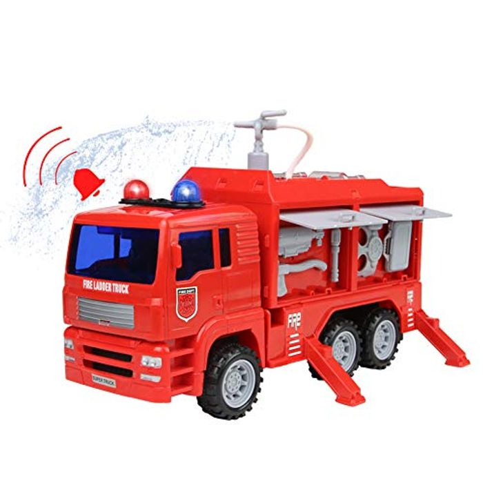 Fire Engine Toy Fire Truck Car Rescue Vehicle