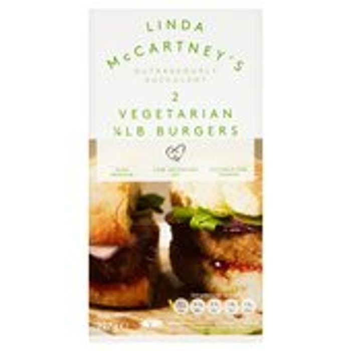 Linda McCartney Vegetarian Quarter Pounder 227g burgers
