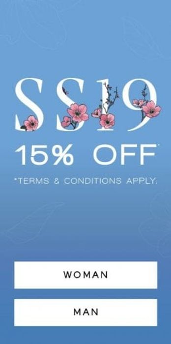 SS19 Launch Event with 15% Off