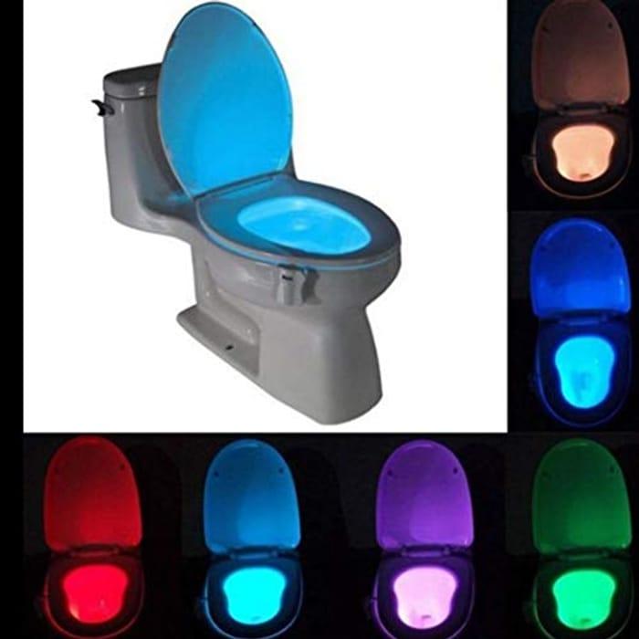 Toilet LED Night Light Lamp