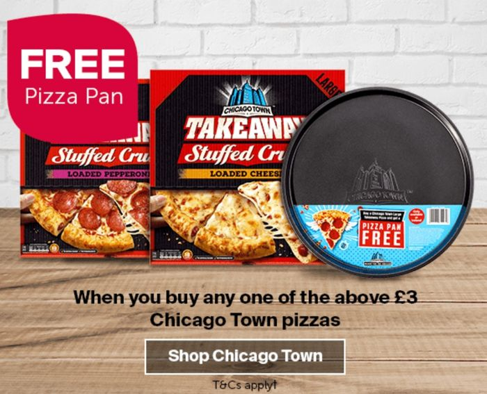 Free Pizza Pan When You Buy 1 Pizza
