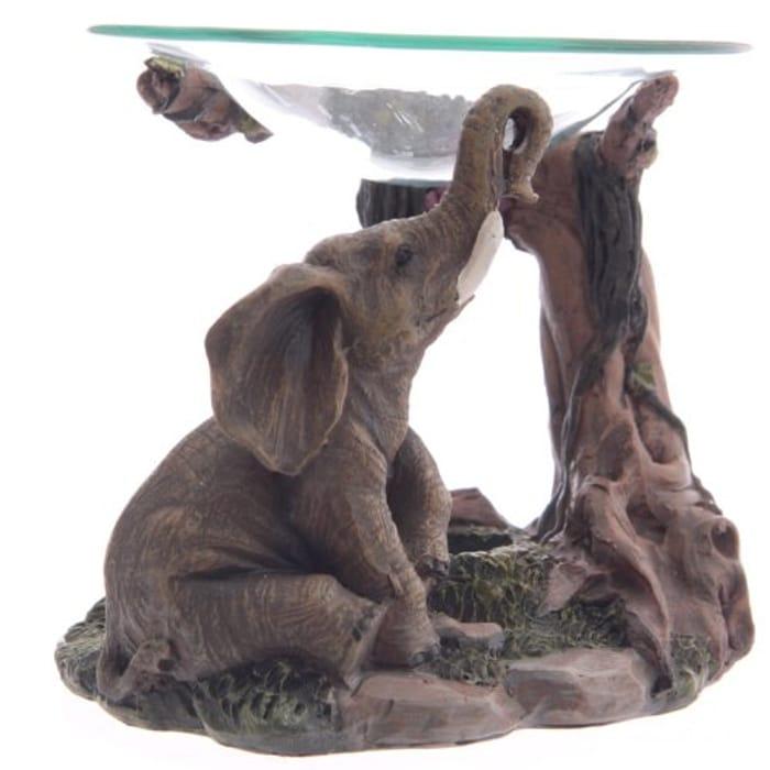15cm Elephant Oil Burner
