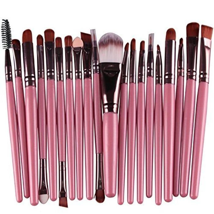 20pcs Make up Brush Set. Free Delivery.