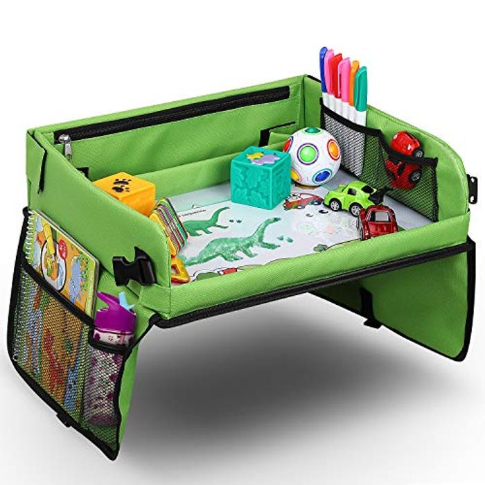 Snack & Play Travel Tray with Dry Erase