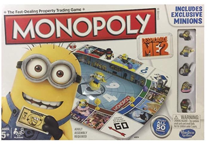 Monopoly Despicable Me 2 Board Game FREE DELIVERY