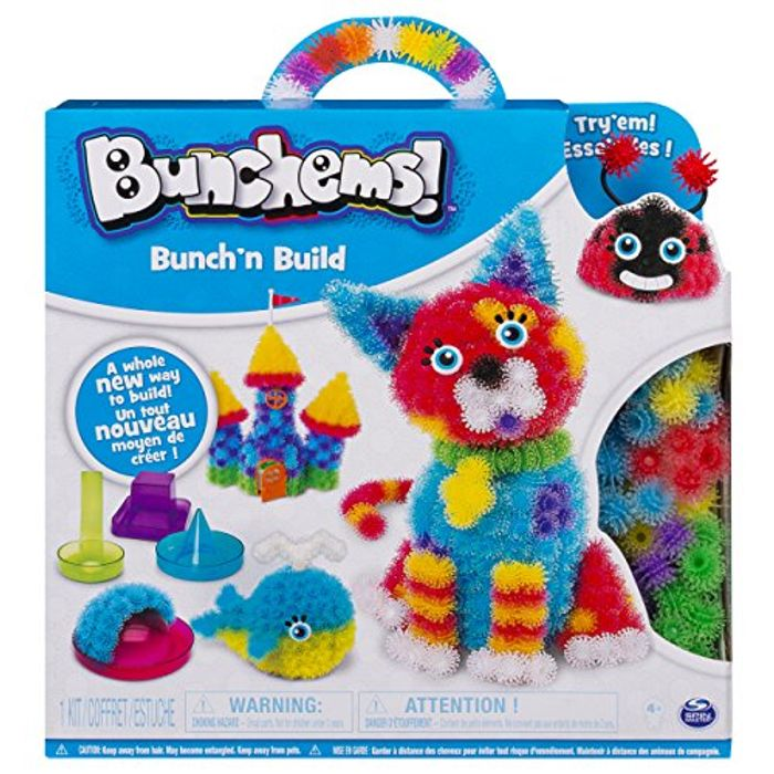 Bunchems Bunchn Build Activity Kit 4 Shaper Moulds 400 Bunchems Age 6+ - 60% Off