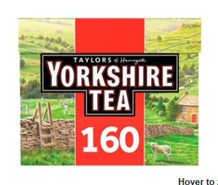 Taylors of Harrogate Yorkshire 160 Tea Bags - 44% Off