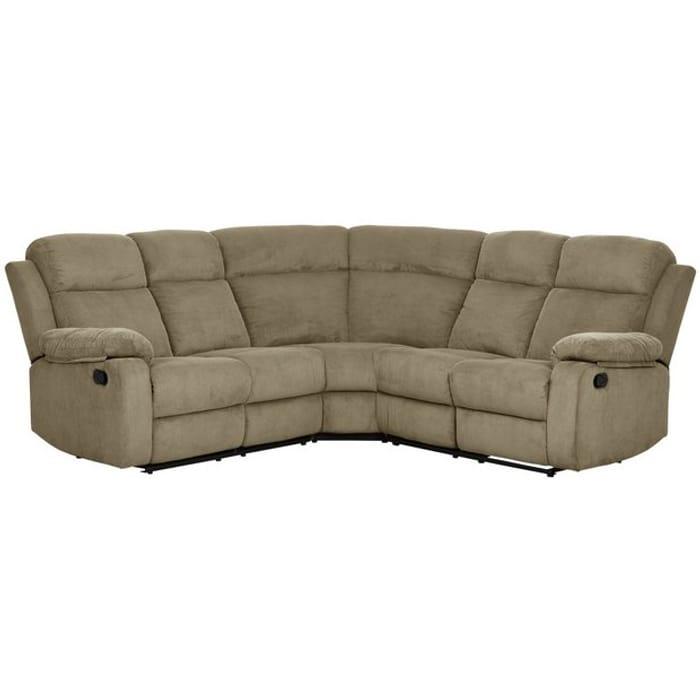 Argos Home New Bradley Fabric Recliner Corner Sofa