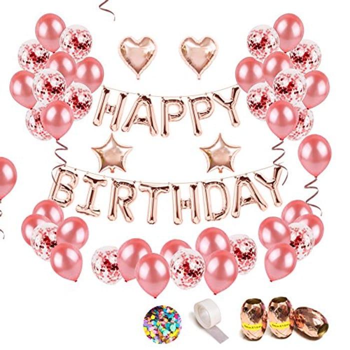 68pc Birthday Party Decoration Set