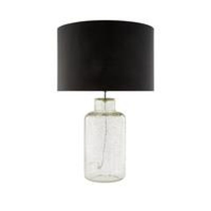 Astral Crackle Glass Table Lamp Only £22.5