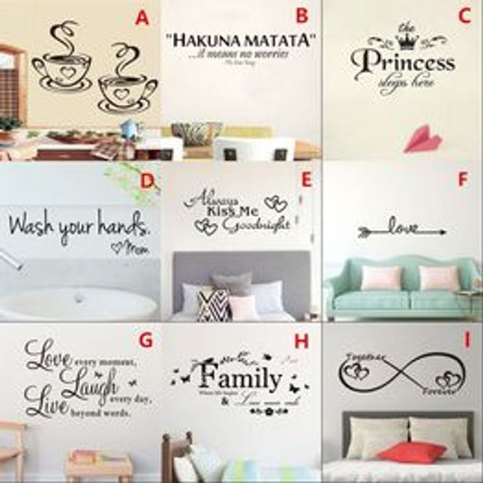 Home Wall Mural Stickers