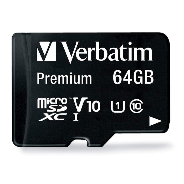 Verbatim 64GB Micro SD Card