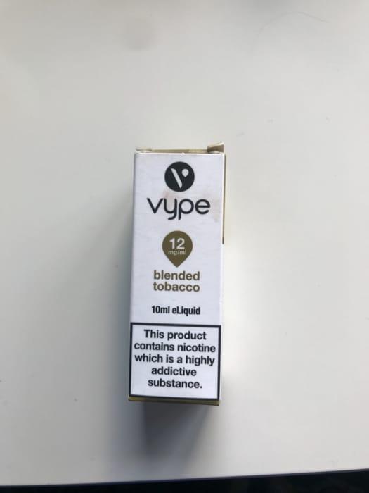 12mg Tobacco Vype Vape Juice