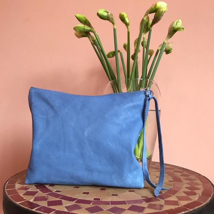 Win a Soft Shabby Chic Leather Clutch!