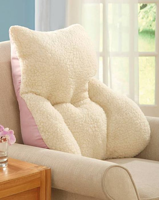 Bargain Sale - Back Support Pink Cushion