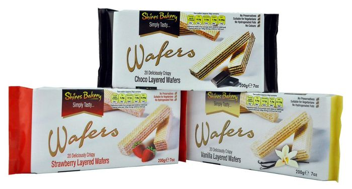 Shires Bakery Layered Wafers