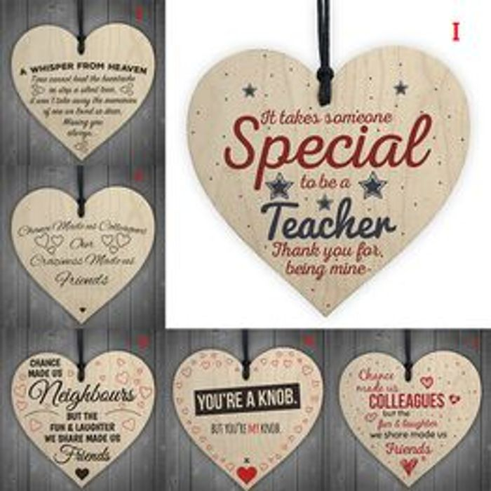 Cute Love Heart plaques..lovely Gift Idea