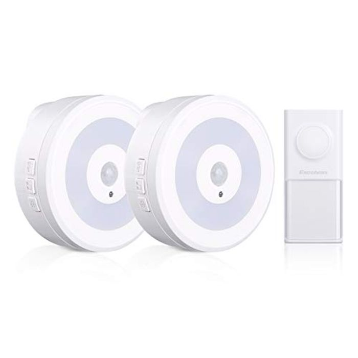 Wireless Doorbell with 2 Recievers - Save 70%
