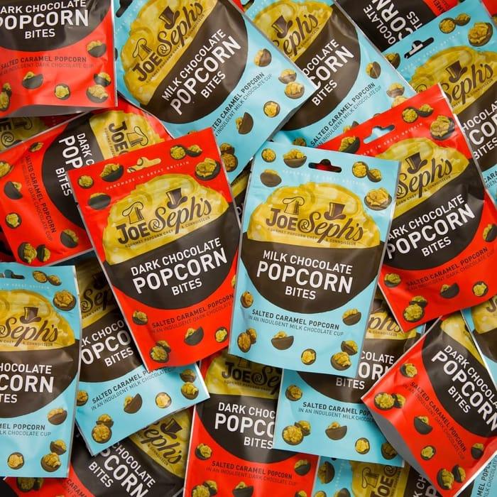 Win a Fortnight's Supply of Chocolate Popcorn Bites!