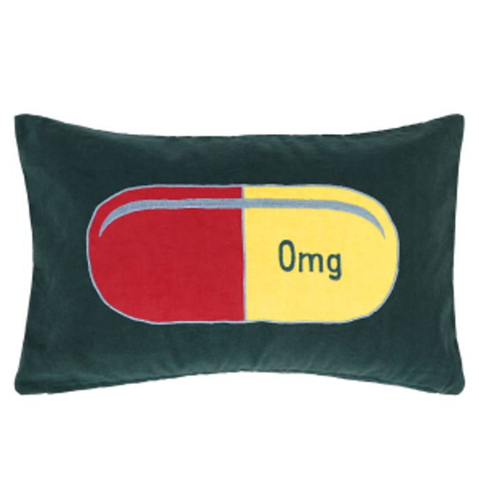 Capsule Cushion 30 X 50cm, Teal