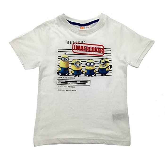 Despicable Me Kids Short Sleeve T Shirts