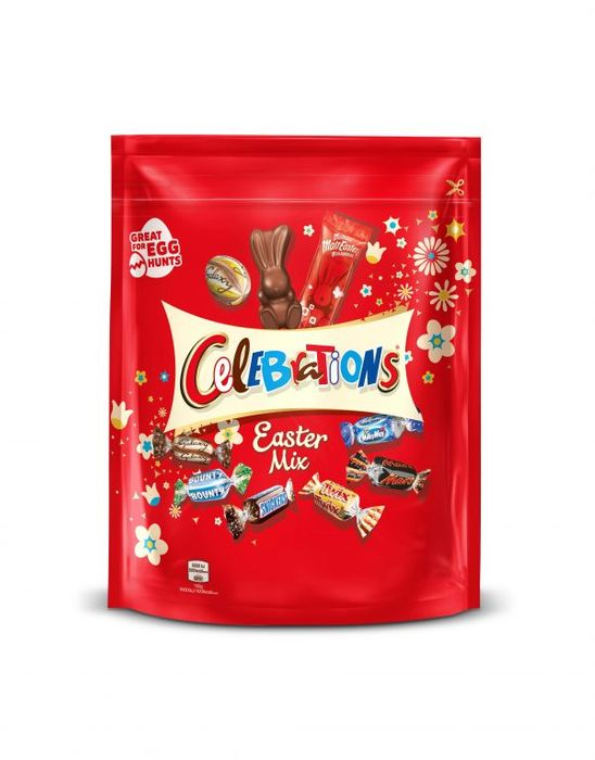 Celebrations Chocolate Large Easter Mix Sharing Pouch