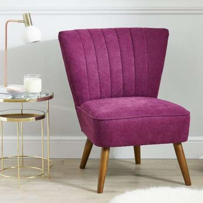 Imogen Chair - Aubergine