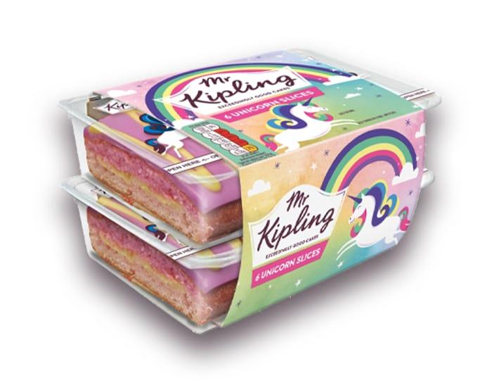 Mr Kipling Unicorn Slices