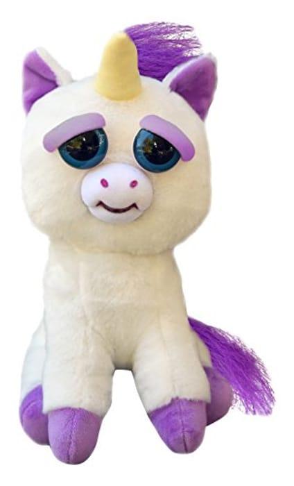 Feisty Pets Glitterpoop Unicorn Plush