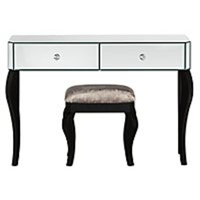 Primrose Mirror Dressing Table and Stool - Save £119