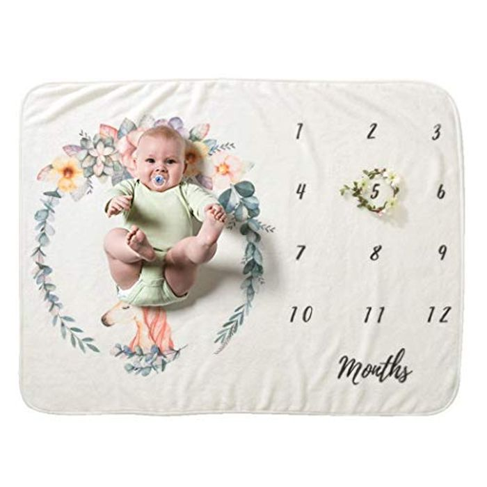 Baby Photo Months Prob / Back Drop 70%off