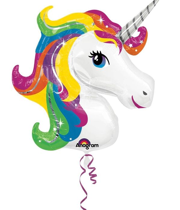 Extra Large Unicorn Foil Balloon for £5