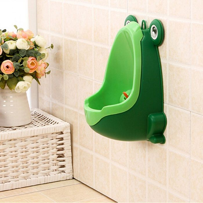 Cute Frog Kids Urinal (Free Delivery)