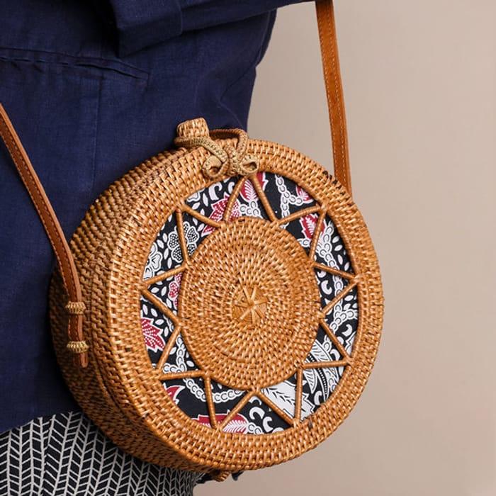 Win a Sicily Woven Bag!