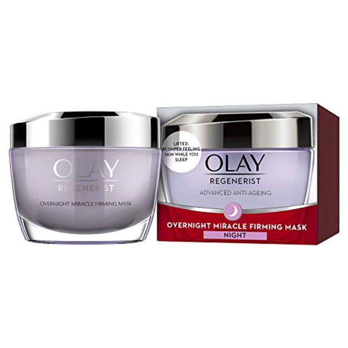 1/2 PRICE - FEW LEFT! Olay Regenerist Overnight Miracle Firming Mask 50ml