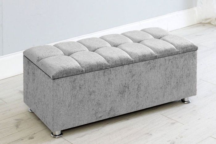 Chelsea Ottoman Box Bench - 5 Colours! 60% Off!