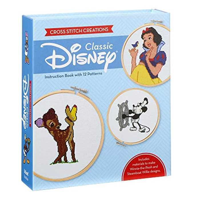 Cross Stitch Creations: Disney Classic: 12 Patterns Disney Characters