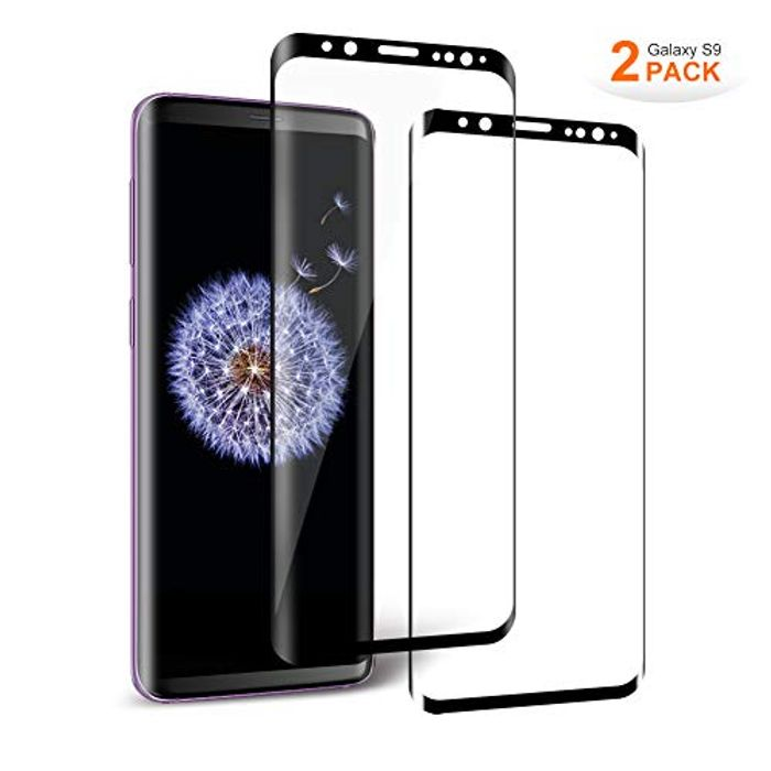 Aollop Samsung Galaxy S9 Screen Protector Glass, Tempered Glass