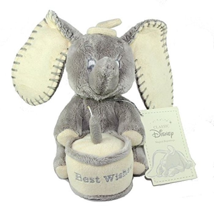 """Disney Classic Magical Beginnings - 6"""" 15cm Dumbo FREE DELIVERY"""