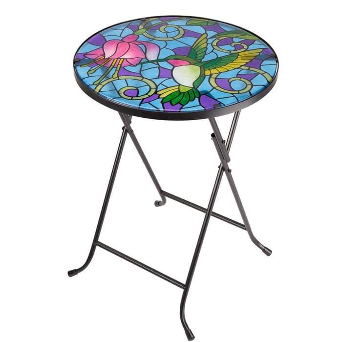 Garden Glass Hummingbird Table Now £11.04 at Robert Dyas (Click N Collect)