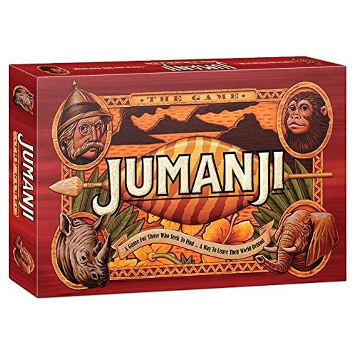 Jumanji JBG000001 Board Game,English Version / Import