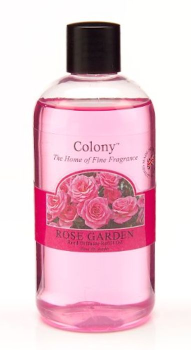 Wax Lyrical Homescents Reed Diffuser Refill, Rose Garden - Save £6