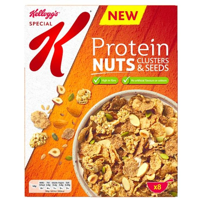 Kellogg's Special K Protein Nuts Clusters and Seeds 330G via Checkoutsmart App