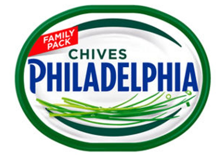 Hover to Zoom Philadelphia Chives Soft Cheese Family Pack