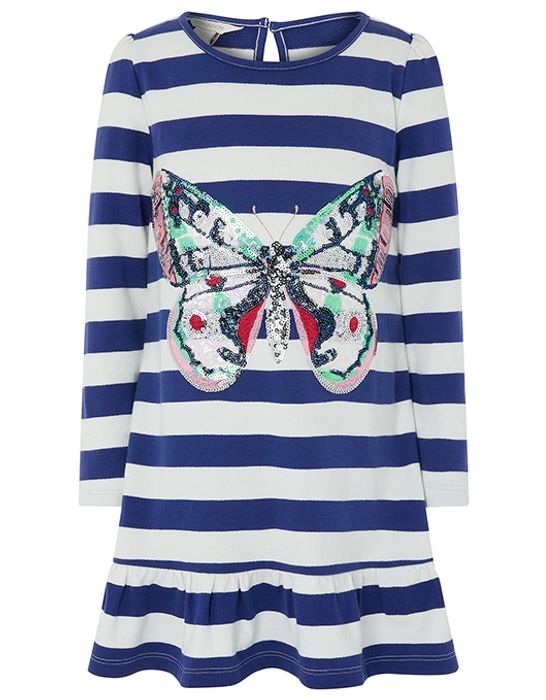 Candy Butterfly Sweat Dress